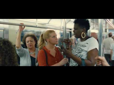 Trainwreck subway scene