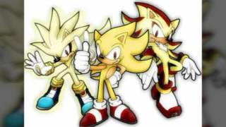 Соник,Сильвер и Шэдоу лудшие друзья!!!