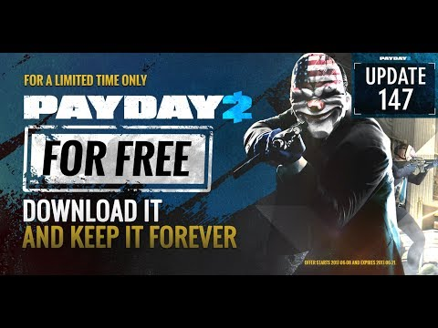 Payday 2 Going Free To Play (For A Limited Time)