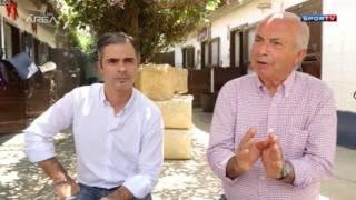 Nelson e Rodrigo Pessoa no  Sportv