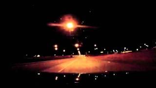 Night Drive Into Las Vegas