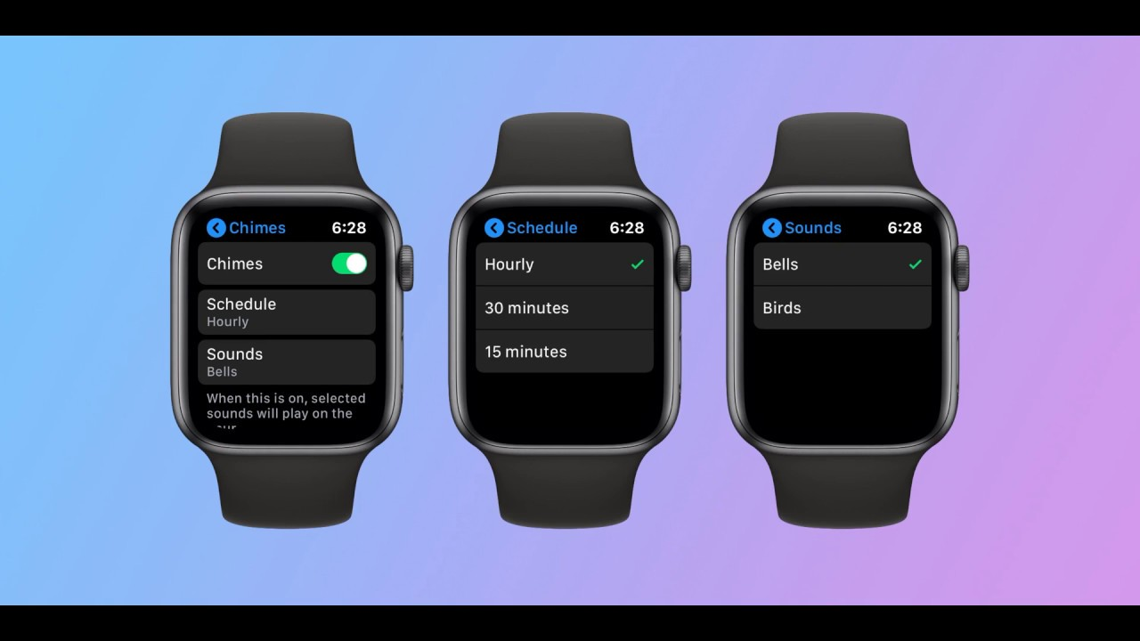 Taptic Chime alerts to Apple Watch