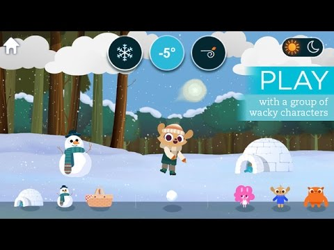 MARCOPOLO WEATHER Game for Kids (Gameplay, Walkthrough) iOS: iPhone, iPad / Android