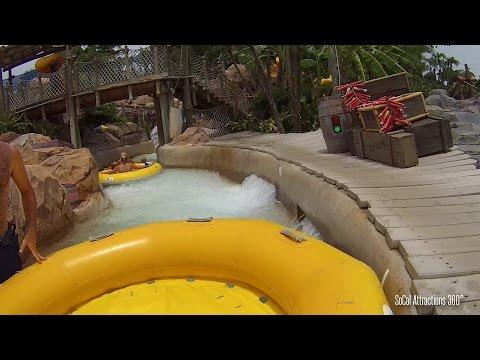 [HD] Gangplank Falls POV - Raft Ride - Disney's Typhoon Lagoon