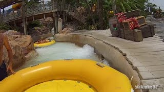 [HD] Gangplank Falls POV - Raft Ride - Disney