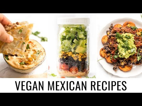 3 *healthy* VEGAN MEXICAN RECIPES 😎 perfect for cinco de mayo