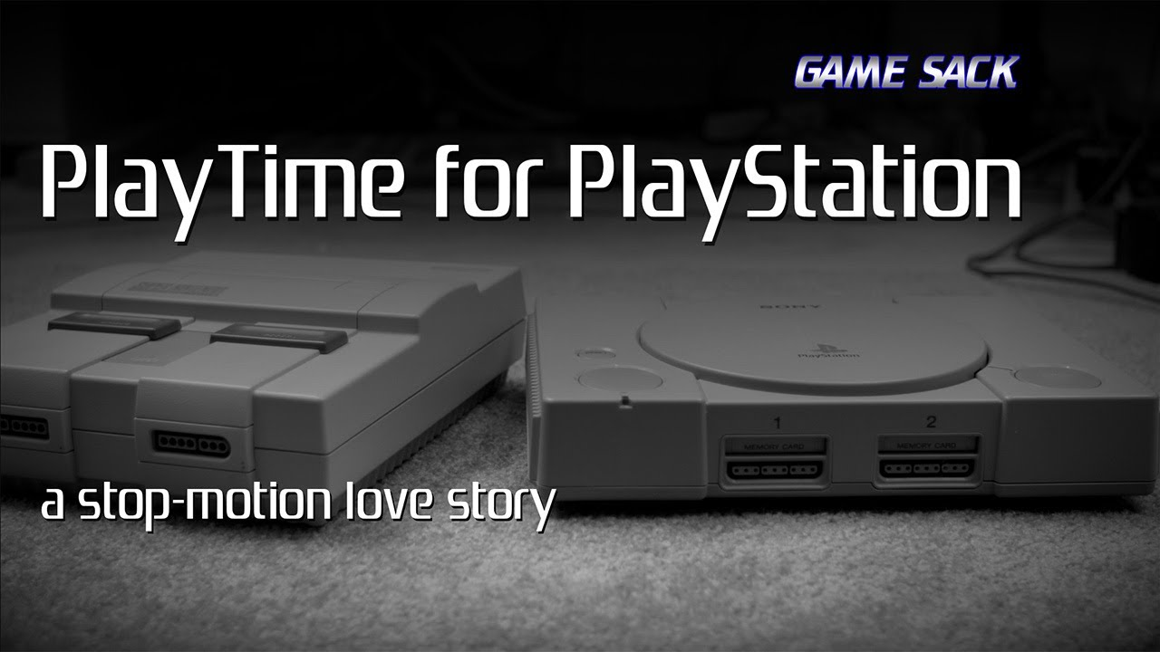 PlayTime for PlayStation - a Stop-Motion Love Story - PlayTime for PlayStation - a Stop-Motion Love Story
