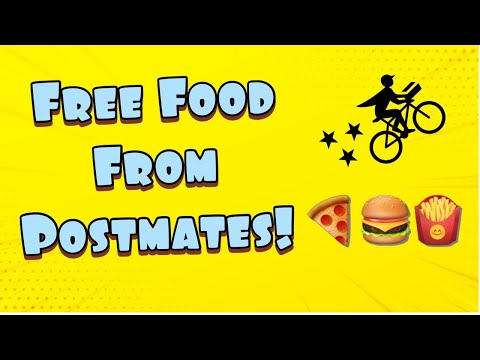 How To Get Free Food From Postmates 2020!! 100% Working!
