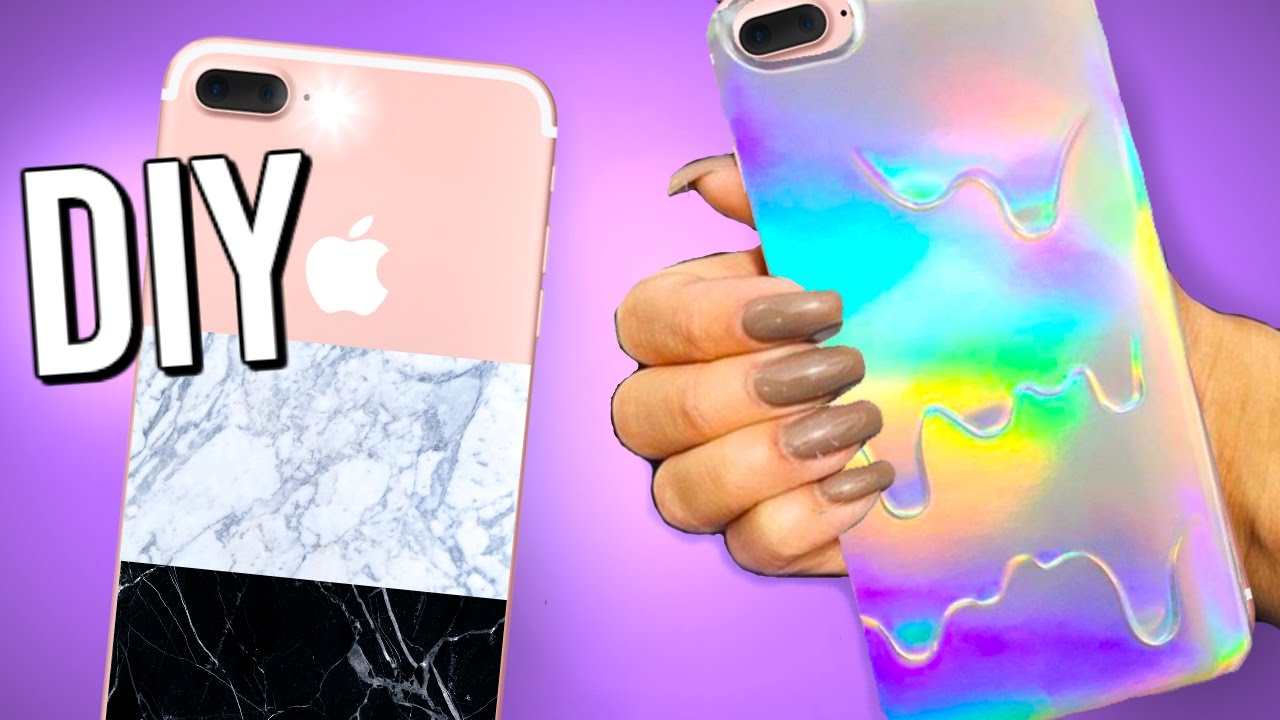 7 diy iphone cases you need to try diy phone cases youtube for How to make phone cases at home