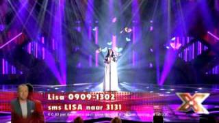 Lisa - X-factor NL 2009 - liveshow 5 - Run To You (Whitney Houston)