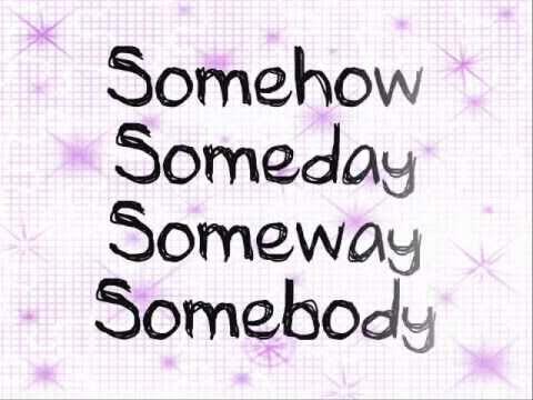 Lemonade Mouth (Bridgit Mendler) - Somebody w/ DOWNLOAD (FULL SONG) Lyrics on screen
