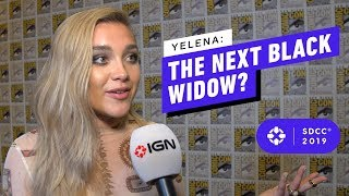 Could Florence Pugh's Yelena Be the Next Black Widow? - Comic Con 2019