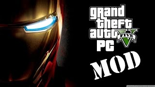 EPIC IronMan GTA V PC Mod ( Script + Armor ) HD 60 FPS
