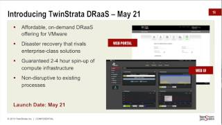 TwinStrata CloudArray - Disaster Recovery as a Service