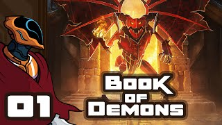 Let's Play Book of Demons - Pc Gameplay Part 1 - Papercut Diablo Nostalgia