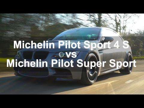 Michelin Pilot Sport 4 S vs Michelin Pilot Super Sport