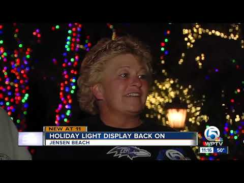 Kelsi - Mansion In Jensen Beach Covered In Thousands Of Christmas Lights