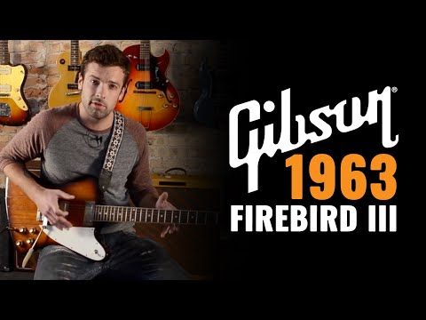 "1963 Gibson Firebird III - Johnny Winter ""Rock and Roll Hoochie Koo"""
