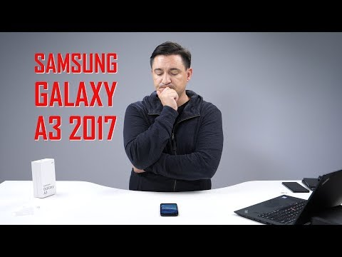 UNBOXING & REVIEW - SAMSUNG GALAXY A3 2017