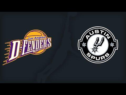 NBA D-League: Los Angeles D-Fenders @ Austin Spurs 2016-04-17