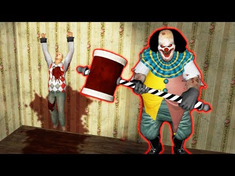 """СТРАШНЫЙ КЛОУН """"ОНО"""" ПЕННИВАЙЗ НОВАЯ КОНЦОВКА - IT - Horror Clown Pennywise"""