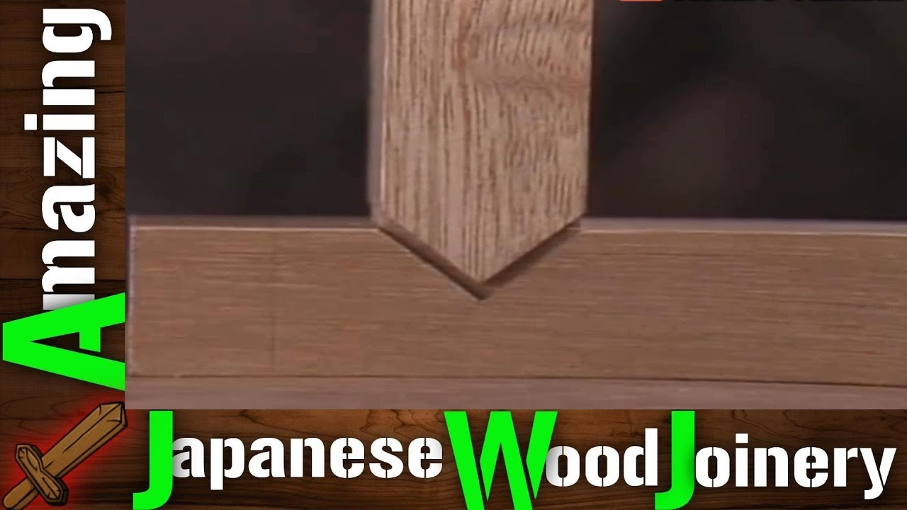 10 Common Japanese Woodworking Joints That Will Blow Your Mind