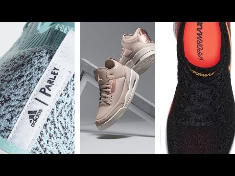 LIMITED Edition Adidas x Parley, JORDAN x MELO, VAPORMAX Hybrid and More SNEAKERS