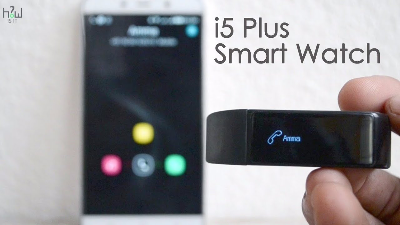 i5 Plus Smart Watch Unboxing & Review