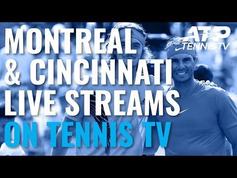Watch 2019 Rogers Cup & Cincinnati Live ATP Tennis Streams On Tennis TV