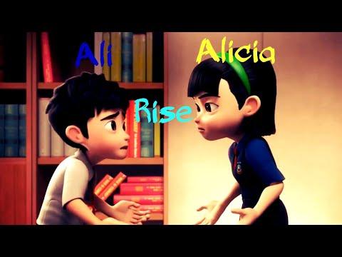 Ejen Ali & Ejen Alicia { AMV } - Rise