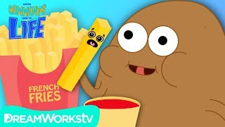 POTATO Eats FRIES For The First Time! | YOUR COMMENTS COME TO LIFE