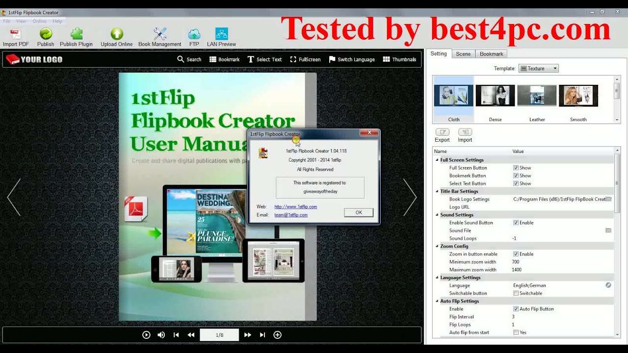 1stflip flipbook creator full