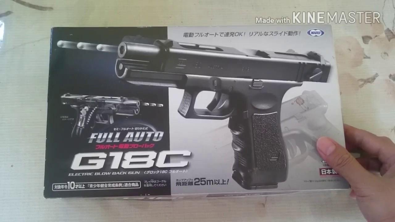 Airsoft Gun Electric Blow Back Tokyo Marui GLOCK 18C rare item