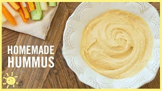 EAT | Homemade Hummus