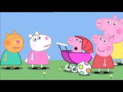 Свинка Пеппа українською сезон 2 серія 39 Поросятко немовлятко