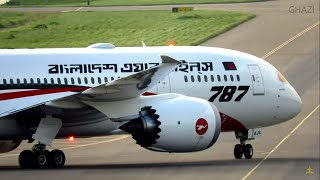 🇧🇩 Historic landing of Biman