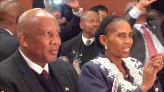 Banquet honoring the King and Queen of Lesotho