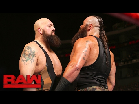 Thumbnail: Big Show vs. Braun Strowman: Raw, Feb. 20, 2017