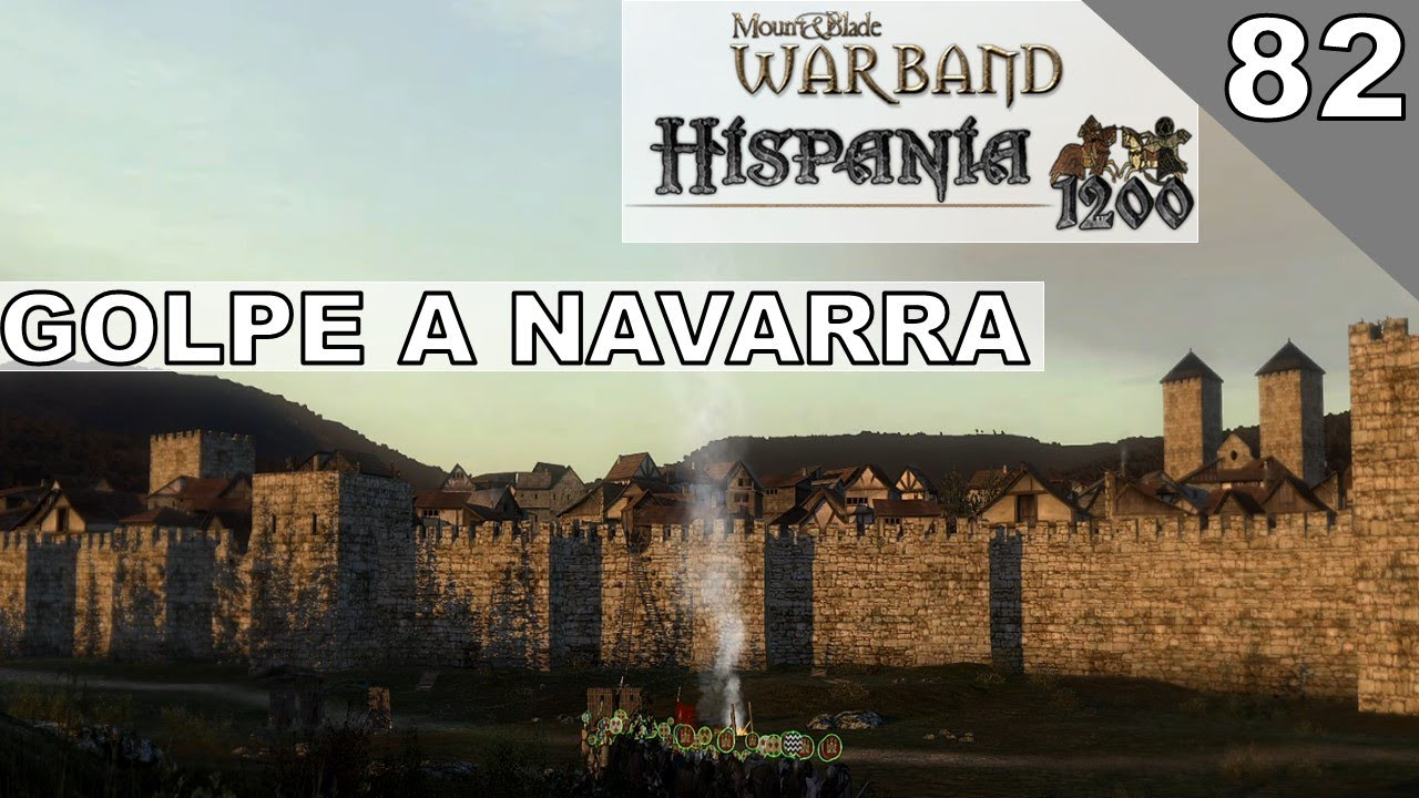 #82 Conquista de Vitoria | Mount & Blade Warband Hispania 1200 Gameplay Español