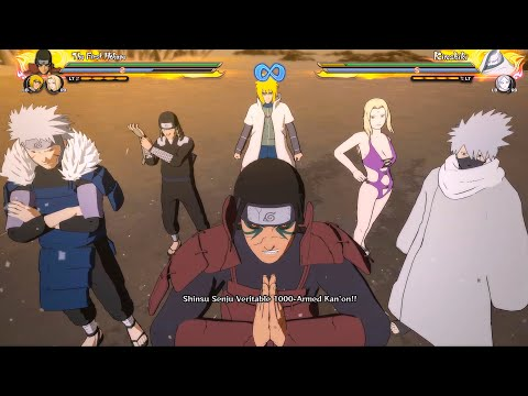 All Hokages Ultimate Jutsus/Team Ultimate Jutsus - Naruto Shippuden: Ultimate Ninja Storm 4