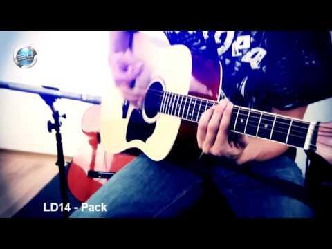 GIới thiệu Guitar Accoustic Kapok LD 14