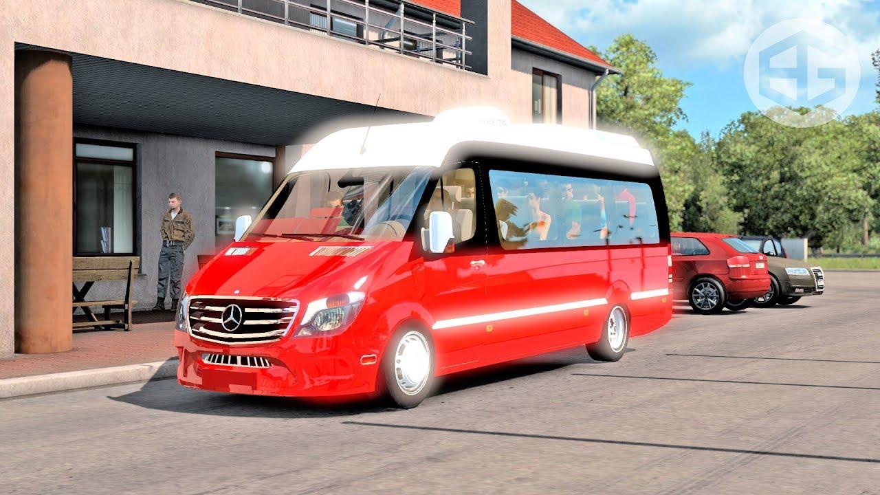 Mercedes-Benz Sprinter ETS2 1 35 (Euro Truck Simulator 2)