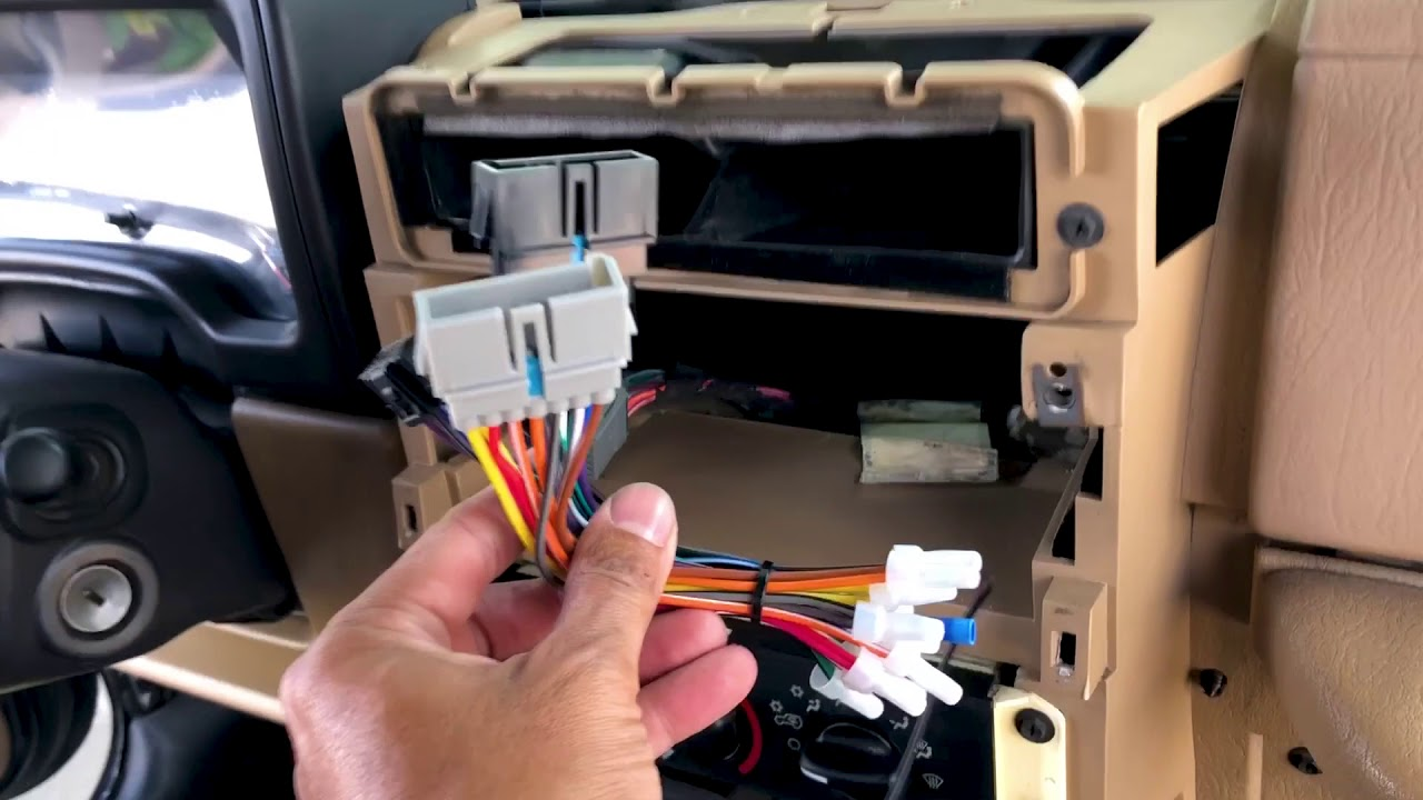 2001 Jeep Wrangler Installing Sony Dsx A415bt Stereo From Qaudratec Com Youtube