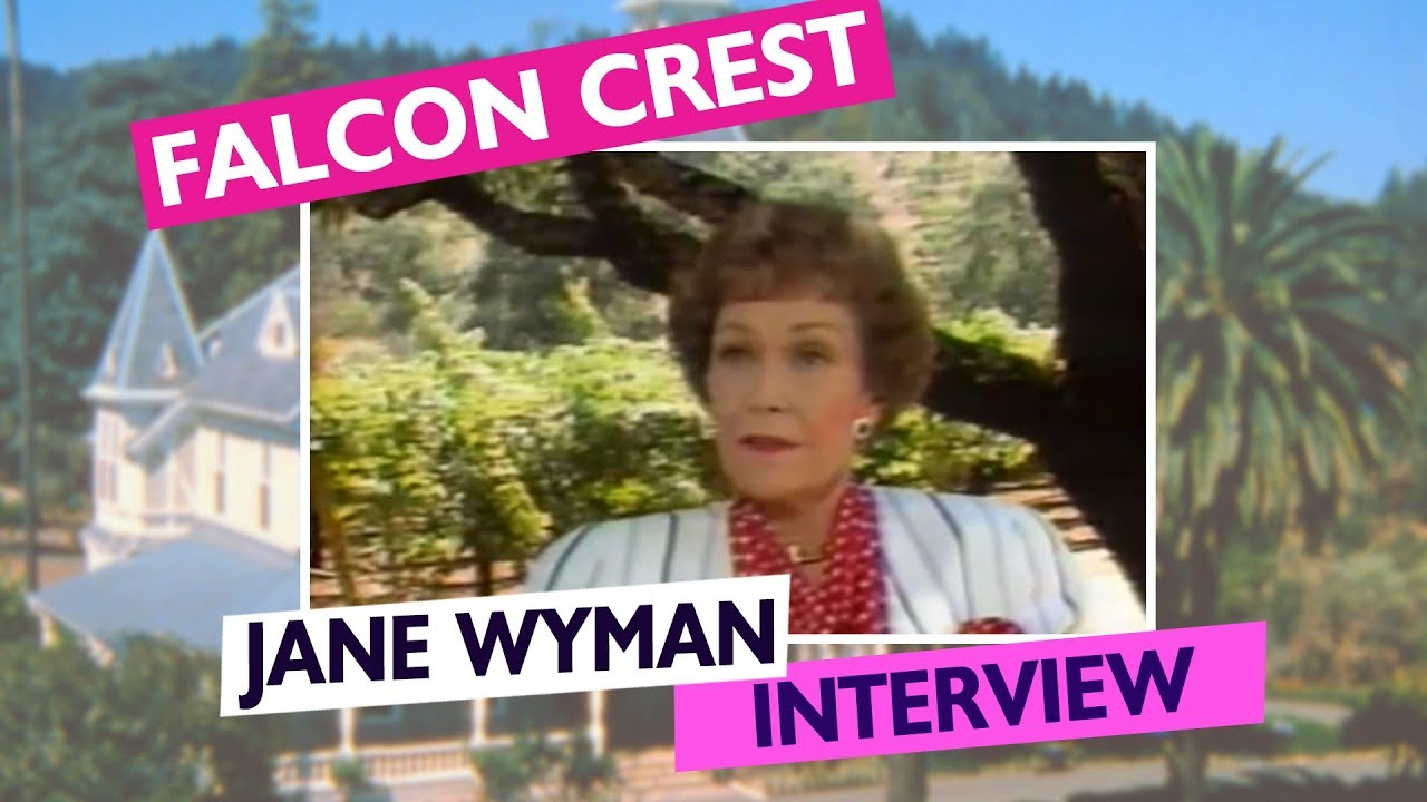 Falcon Crest: Jane Wyman Interview on ET - YouTube