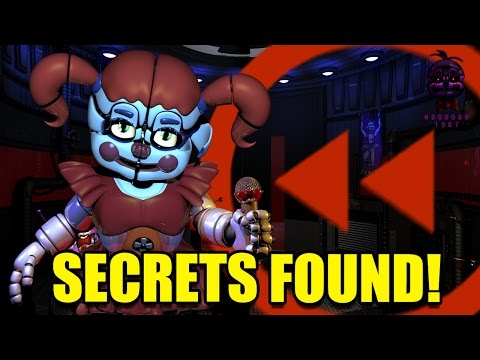 FNaF: Sister Location | All Baby's Voice Lines Backwards! SECRETS FOUND!?!