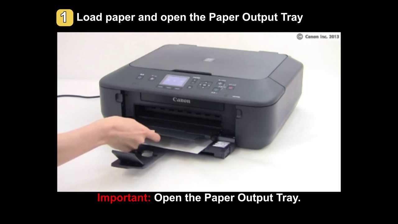 Pixma Mg5520mg5522mg6420 Printing Shifts From The Correct