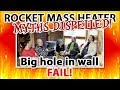 Rocket Mass Heater Myths:  heating with a big hole in the wall; ziplock bag effect; tipi results