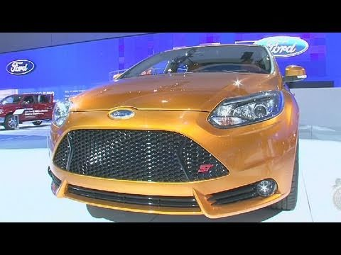 2012 Ford Focus ST and Electric- Los Angeles Auto Show