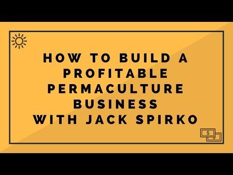 Building a Profitable Permaculture Business