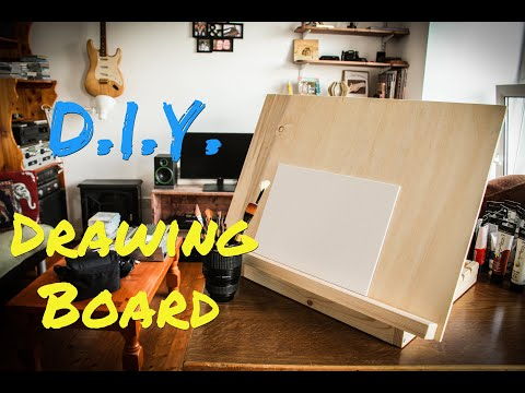 DIY Drawing Board / Art Easel